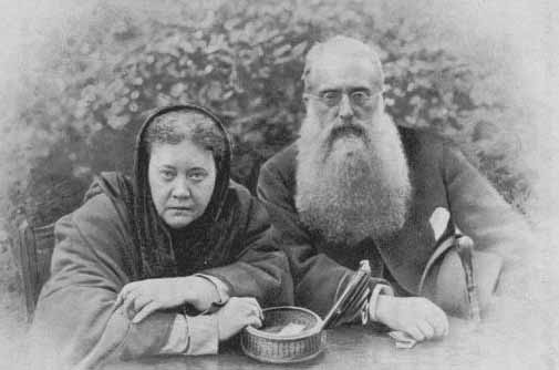 H.P.Blavatsky y H.S.Olcott