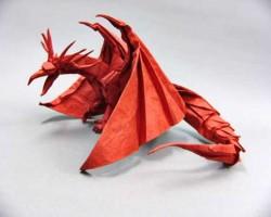 Dragón Antiguo (origami)
