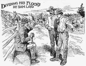 Dividiendo el ganado
