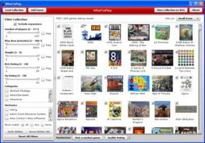 WhatToPlay, gestiona tu colección de juegos en BGG
