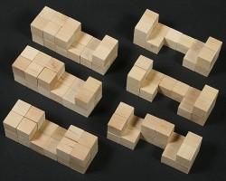 Resolviendo un burr puzzle