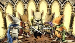Aventuras para Mouse Guard