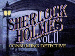 Sherlock Holmes: Consulting Detective (PC Engine)