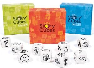 Sí, Señor Oscuro, con Story Cubes