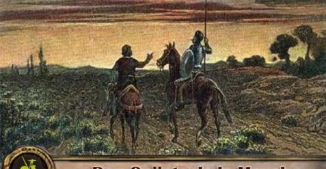 Las desdichadas aventuras de don Quijote y Sancho Panza